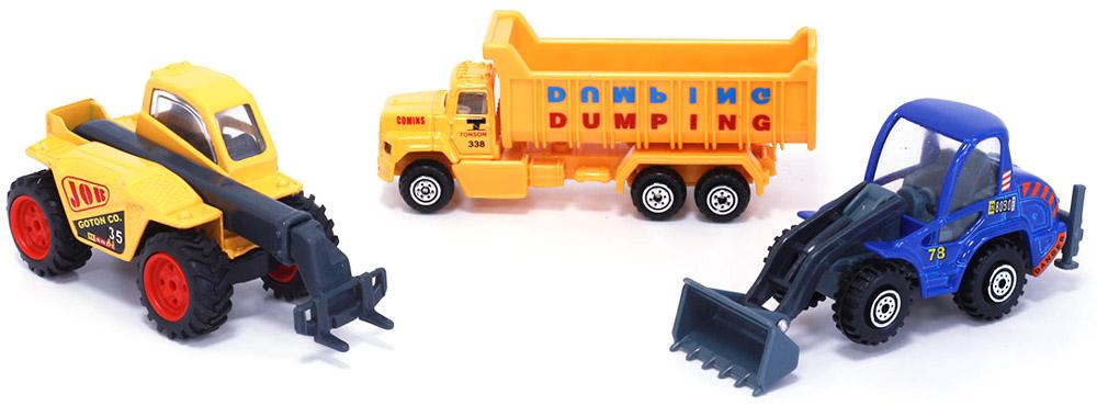 Pioneer Toys Машинка Строительная техника 3 шт
