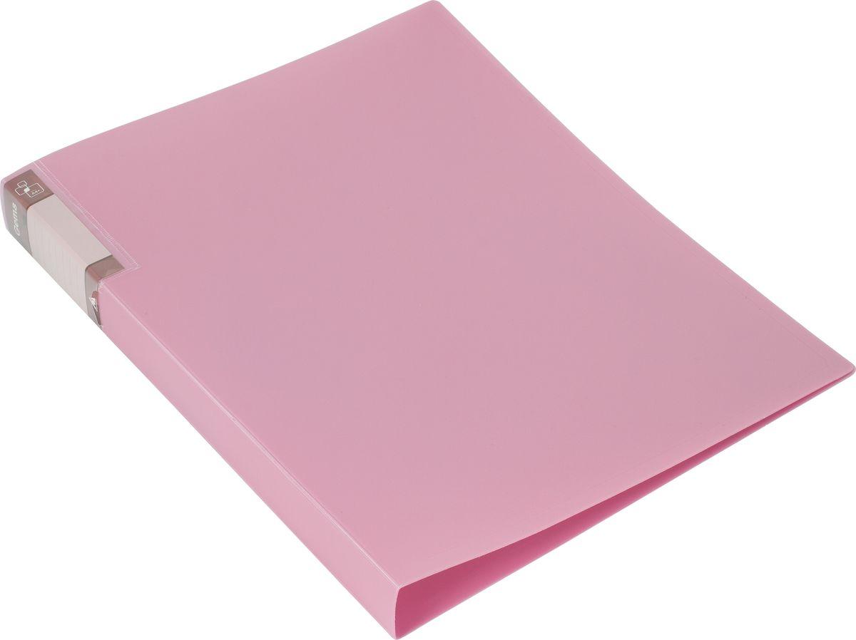 Бюрократ Папка-скоросшиватель Gems А4 цвет светло-розовый1014430Папка Бюрократ Gems формата А4 идеально подходит для подшивки бумаг в архивные папки с помощью металлического пружинного скоросшивателя. Папка изготовлена из прочного высококачественного пластика. На боковой стороне обложки имеется декоративная наклейка со строчками для записи ФИО владельца или названия папки. С такой папкой все ваши документы будут в полной сохранности.