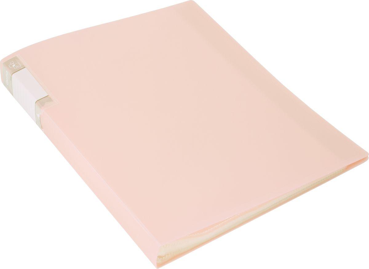 Бюрократ Папка с файлами Gems А4 цвет бежевый1014871Коллекция Gems ( самоцветы ) – это новые, интересные модели пластиковых папок, исполненных в перламутровых цветах: розовый аметист, голубой топаз, кремовый жемчуг и зеленый турмалин. Благодаря яркому акценту и необычным перламутровым оттенкам папки серии Gems отличаются от других скучных офисных товаров. Папка с 40 прозрачными вкладышами толщиной 30микрон надежно защитит ваши документы, при этом их не нужно пробивать дыроколом. При изготовлении мы используем плотный пластик толщиной 0,7мм. Торцевой укороченный карман позволит быстро и без замятин менять информацию на папке. Данные папки поставляются в сложенном виде, поэтому будут ровно стоять на полке.Окружите себя самоцветами!