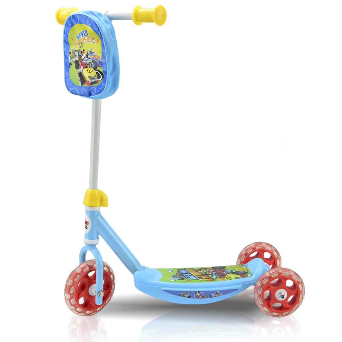 Самокат Disney Микки и Веселые гонки, трехколесный