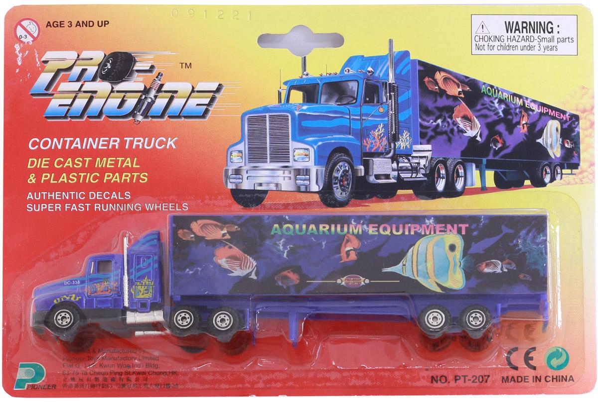 Pioneer Toys Машинка Контейнеровоз синий