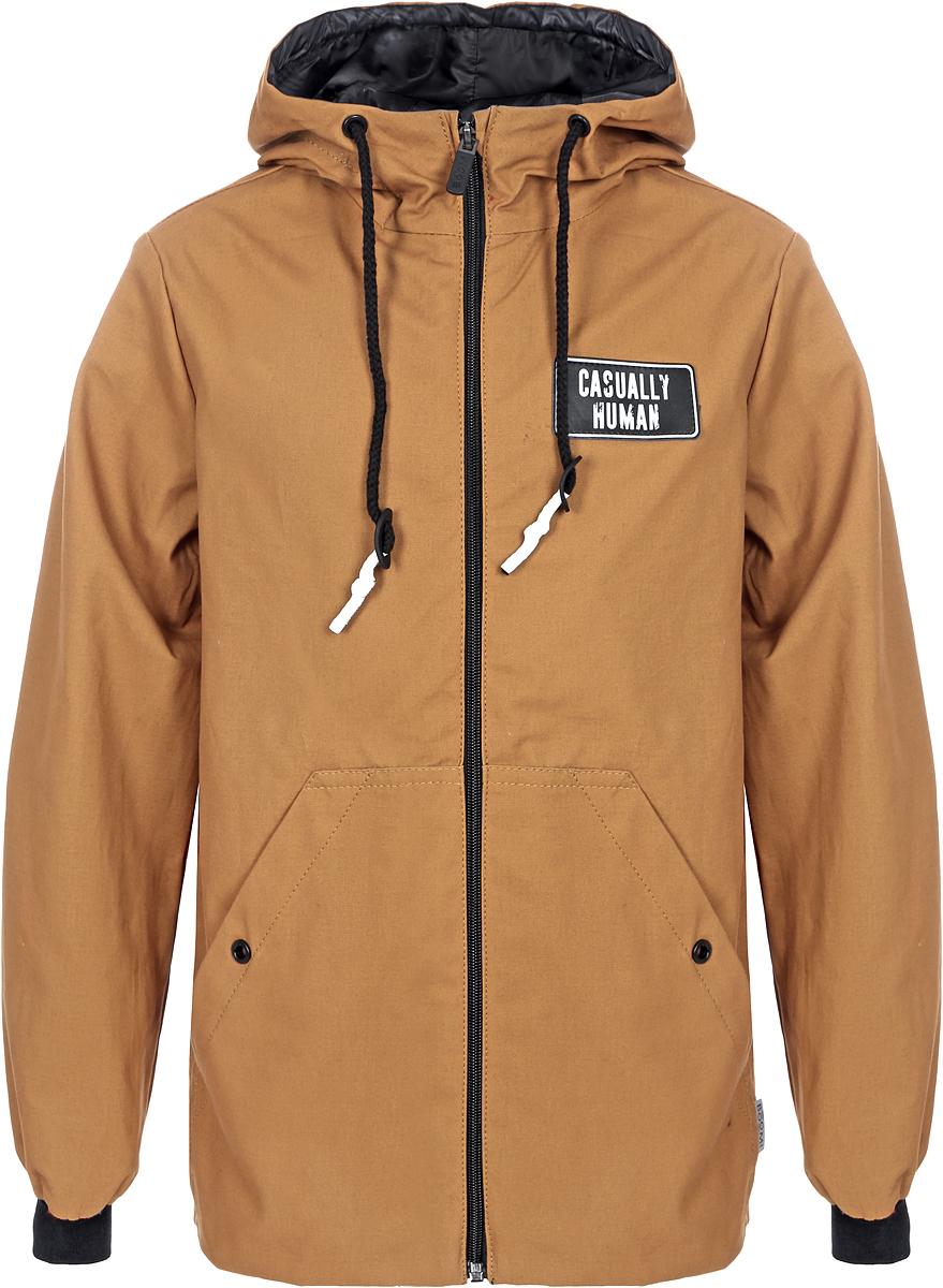 Куртка для мальчика Boom!, цвет: коричневый. 80042_BOB. Размер 11080042_BOBСтильная куртка для мальчика от Boom! на флисовой подкладке выполнена из натурального хлопка. Идеальна для прогулок в межсезонье или прохладными летними вечерами. Модель с длинными рукавами и капюшоном застегивается на молнию. По бокам дополнена карманами.