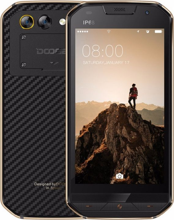Doogee S30, Antique Gold nomu s30 4g phablet