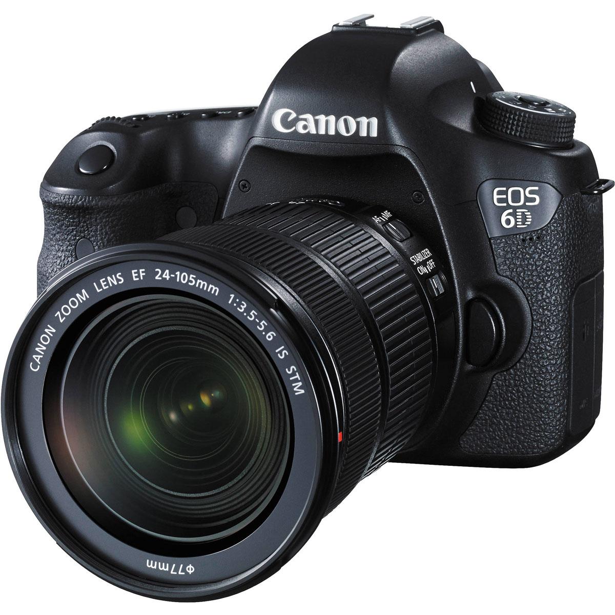 Canon EOS 6D Kit 24-105 IS STM цифровая зеркальная фотокамера