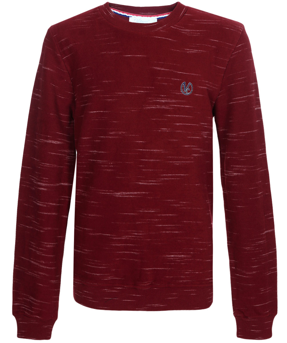 Джемпер для мальчика Vitacci, цвет: бордовый. 1171456-17. Размер 1641171456-17