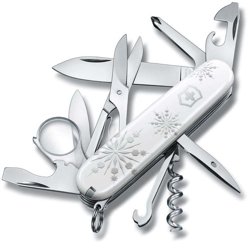 Нож перочинный Victorinox Explorer White Christmas, 16 функций, 9,1 см