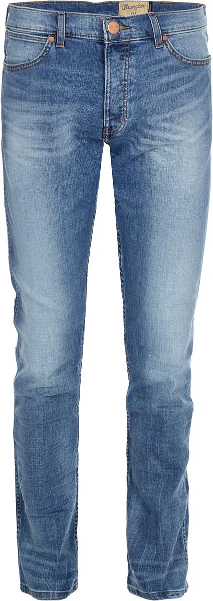 все цены на Джинсы мужские Wrangler Spenser, цвет: синий. W16ANJ87M. Размер 34-34 (50-34) в интернете