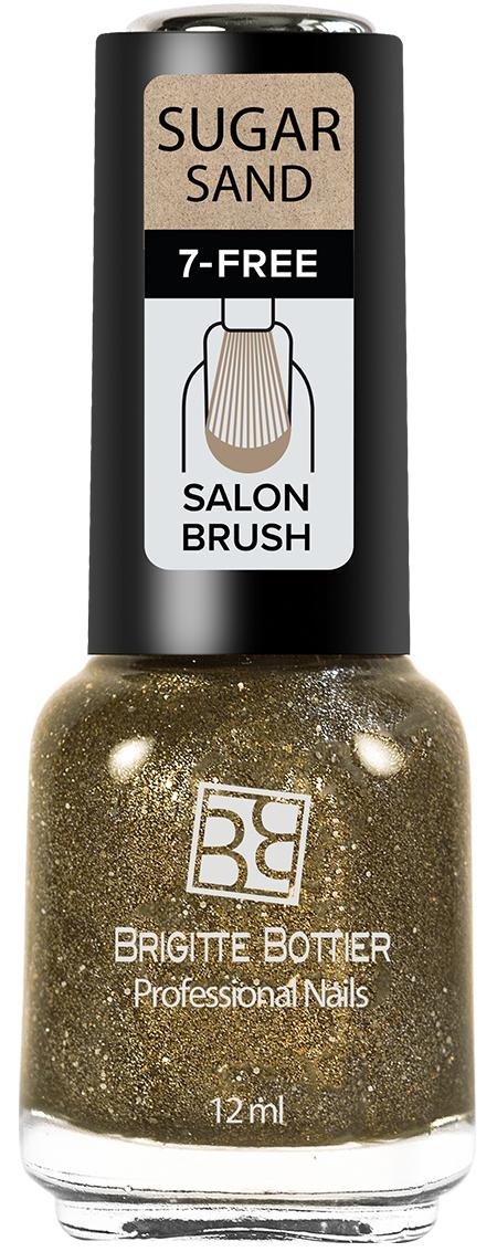 Brigitte Bottier лак для ногтей Sugar Sand тон 315 искрящийся коричневый, 12 мл