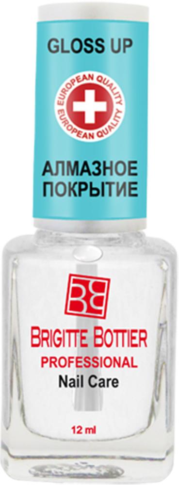 Brigitte Bottier лечебное средство для ногтей (02) Алмазное Покрытие Gloss-Up, 12 млBB-РNC/02Высокоэффективное средство для усиления цвета лака и придания маникюру суперблеска. Передовая формула этого средства позволяет получить эффект высокопрофессионального салонного маникюра, образуя ультраблестящее, прозрачное покрытие, визуально усиливающее цвет лака и придающее ему кристальный блеск.