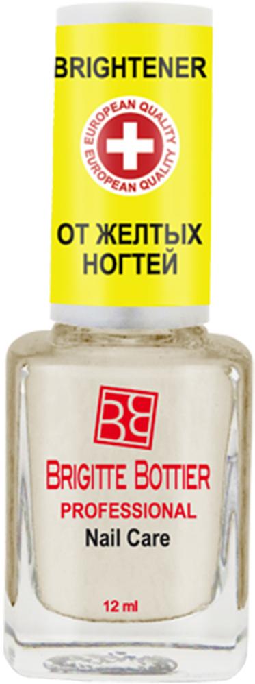 Brigitte Bottier лечебное средство для ногтей (03) Восстанавливающий Лак от Желтых Ногтей Nail Brightener, 12 мл brigitte bottier лечебное средство для ногтей 13 для удаления кутикулы cuticle remover 12 мл