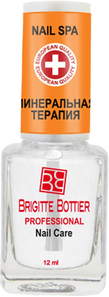 Brigitte Bottier лечебное средство для ногтей (04) Минеральная Терапия Nail Spa, 12 млBB-РNC/04Средство на водной основе и натуральных природных компонентах с экстрактами минералов морского дна, раковины устрицы, экстрактом апельсина.