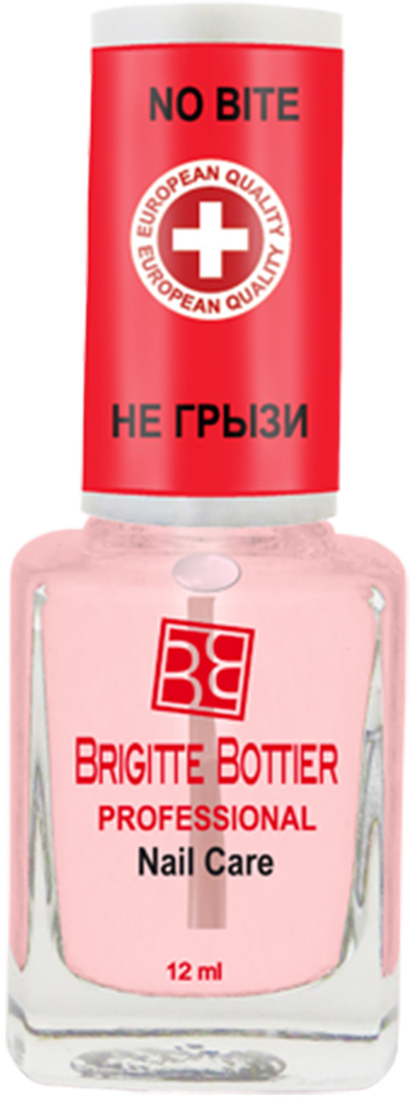 Brigitte Bottier лечебное средство для ногтей (06) Не Грызи No Bite, 12 млBB-РNC/06Средство против обгрызания ногтей на водной основе, гипоаллергенное, с безвредным горьким вкусовым концентратом. Средство незаметно на ногтях
