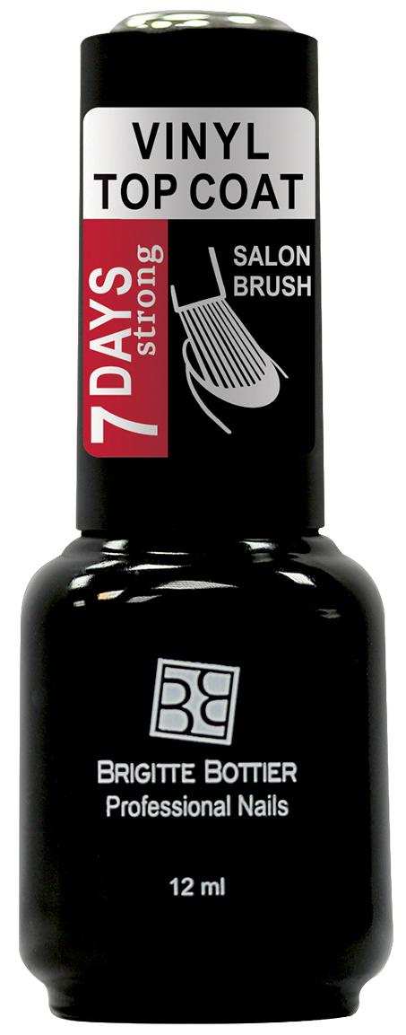 Brigitte Bottier топовое покрытие для ногтей Vinyl Top Coat 7 Days Strong, 12 мл лак для ногтей skinfood nail vita top coat 10 мл