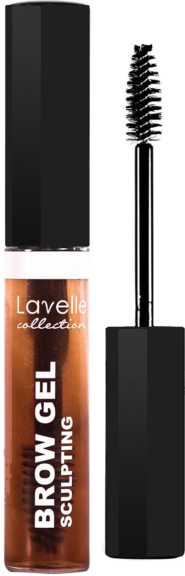 LavelleCollection гель для фиксации бровей BSG-02 коричневый, 9 мл