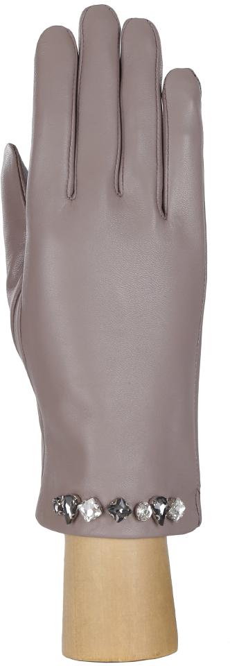 Перчатки женские Fabretti, цвет: серый. 15.6-9s. Размер 6,5