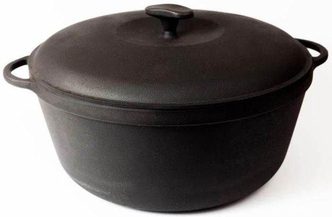 Кастрюля Ситон Термо с крышкой, 5,5 лЖ2734Издавна чугун считается одним из лучших материалов для изготовления посуды, которую можно использовать на любых источниках тепла, при этом нагревая до любых температур он не токсичен. Он неможет нанести вред здоровью человека! Литой чугун почти вечен, так как он практически не подвержен деформации! Не боится перегрева и механических повреждений!