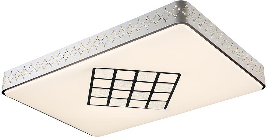 Люстра Максисвет Панель, 1 х LED, 80W. 1-7178-WH Y LED1-7178-WH Y LEDСерия легких ультрамодных потолочных светильников в коллекции Панели:- комбинированный корпус светильника, выполненный из металла и акрила- геометрический черно-белый рисунок на акриловой панели- в комплектацию светильников входит пульт дистанционного управления