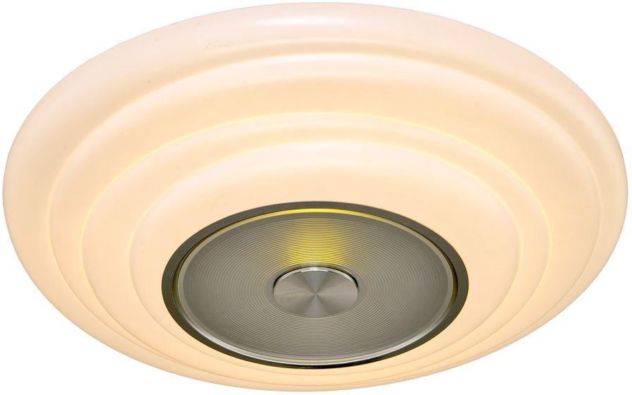 Люстра Максисвет Панель, 1 х LED, 36W. 1-7201-WH+CR Y LED