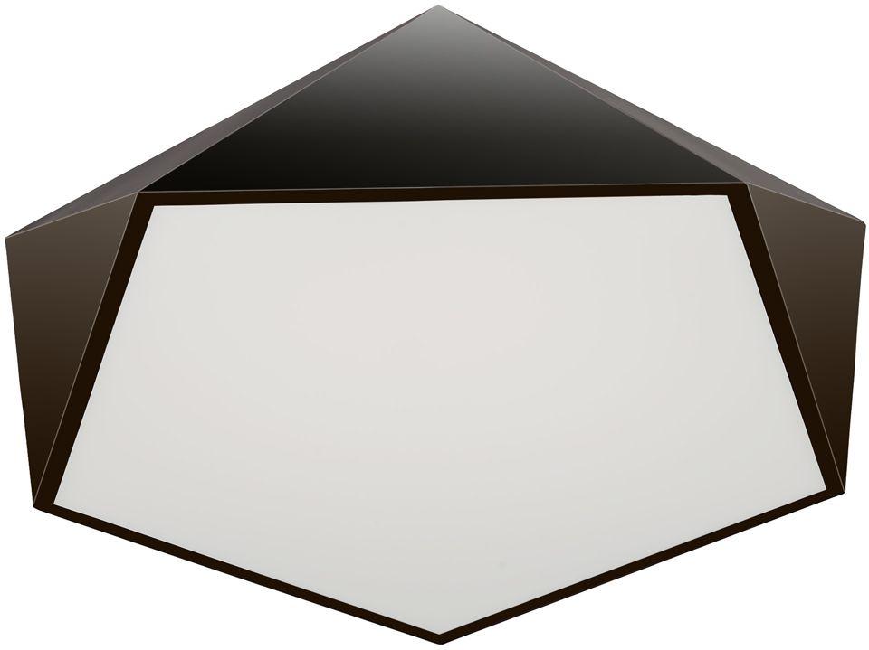 Люстра Максисвет Панель, 1 х LED, 36W. 1-7302-BK Y LED