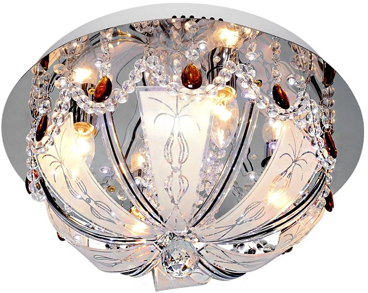 Люстра Максисвет Буше, 4 х E14, 40W. 1-1913-4-CR-LED Y E141-1913-4-CR-LED Y E14Люстры «Буше» - воплощение праздника в интерьере.Эта коллекция наполнена воздушными и нарядными моделями, которые напоминают намо не менее праздничных тортах и пирожных.Люстры не только красивы, но и функциональны, они сочетают в себе последниетенденции в интерьерном свете – светодиодная подсветка в сочетании с хрустальнымдекором, дистанционный пульт, при помощи которого можно менять режимы освещения,возможность воспроизведения музыкальных композиций (модели с USB-накопителем вкомплекте) и др.Помимо всего этого, коллекцию отличает отличное соотношение цена/качество, чтонепременно привлечет большое количество покупателей.