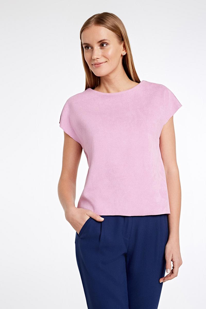 Блузка женская Concept Club Skin, цвет: светло-розовый. 10200110291_3400. Размер XL (50)