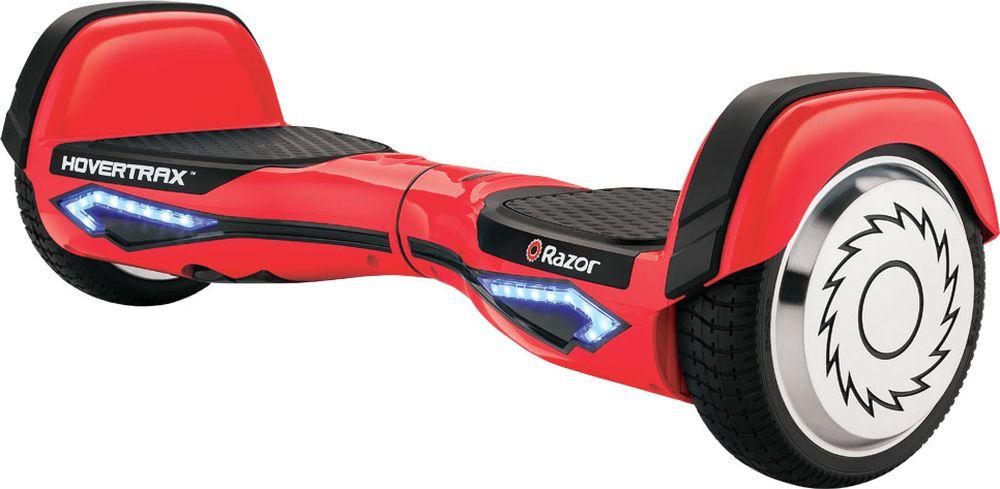 Гироскутер Razor Hovertrax 2.0, цвет: красный021301Инновационное устройство для передвижения по городу - гироскутер RazorHovertrax 2.0! Легкий транспорт будущего со встроенным гироскоп-датчикомтеперь доступен в оригинальном исполнении, с запатентованнымитехнологиями от Razor. Теперь вы можете приобрести настоящий,качественный продукт от знаменитого американского бренда самокатов.Hovertrax идеально синхронизирован с вашими ногами. Любое ваше движениеног передается сразу в движение на ровной поверхности. Вы можете быстроехать по прямой, преодолевая небольшие городские препятствия, или жеустроить показательные выступления для друзей и зевак, вращаясь нагироскутере на 360 градусов, или эффектно заходить в повороты спинойвперед. Катаясь на гироскутереRazor Hovertrax 2.0, вы как будто летите надземлей. Езда очень плавная, бесшумная и быстрая. Имея под капотом паруэлектромоторов и литий-ионный аккумулятор от LG, вы можете получить до2 часов футуристического удовольствия! Razor Hovertrax 2.0 имеетзапатентованные технологии для балансировки райдера. Эксклюзивная технология EverBalance™ обеспечивает интеллектуально- спроектированную самобалансировку для более легкого управления иплавного хода, каждый раз, каждый день. Гироскутер станет вашим спутником для передвижения по городу и прогулокв парке!От 8 лет. Вес гироскутера: 12,3 кг. Максимальная нагрузка 100 кг. Максимальная скорость 13 км/час. Быстрозаряжаемый аккумулятор LG: литий-ионный на 36V, 2,5Ач. До 115 минут непрерывной работы (2 часа работы!). Индикатор уровня заряда аккумулятора. Индикатор уровня баланса (встроенный гироскоп). Небьющееся полимерная рама (пластиковый корпус). Тихие, двойные двигатели, по одному на каждое колесо. Мощность каждого двигателя 135 Вт, пиковая мощность 350 Вт. Технология гироскопического датчика, самобалансировка. Управление и маневрирование при помощи ног. Противоскользящие платформы для ног. Резиновые колеса с алюминиевым диском, диаметром 6,5 дюймов. Режим обучения, режим обычной, нормал