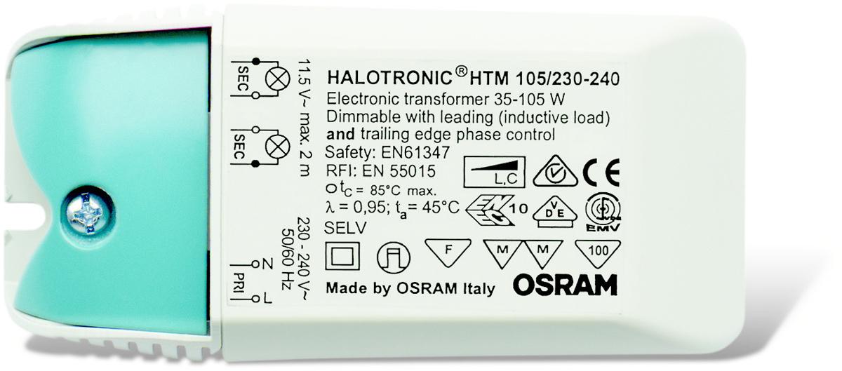 Трансформатор Osram HTM 105/230-240. 40503004423344050300442334