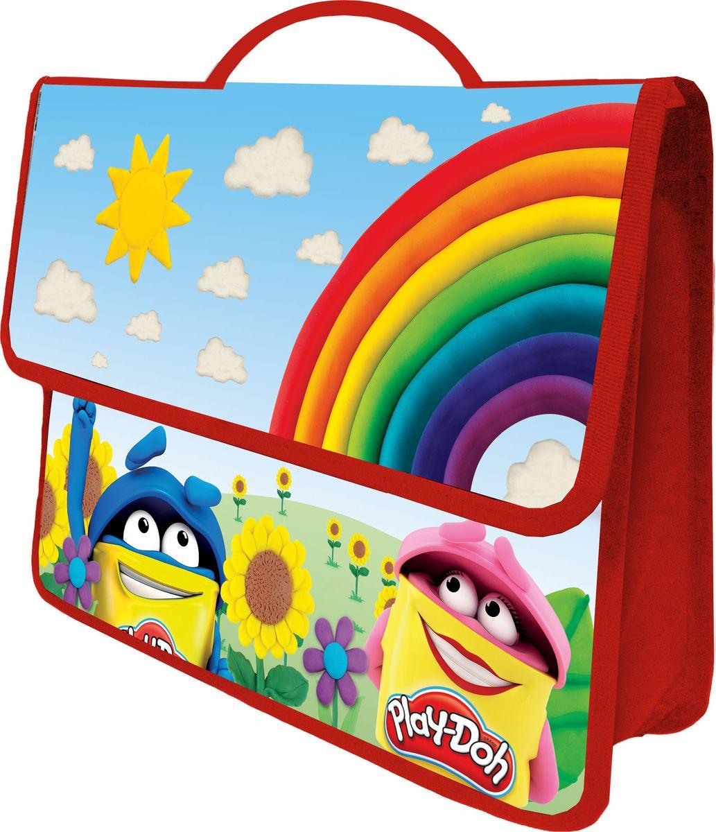 Play-Doh Многофункциональная папка-портфель А4 цвет красныйPDEB-US1-PTEA4Многофункциональная папка А4 формата используется для хранения различных документов, детских рисунков или канцелярских принадлежностей. Застегивается на липучку, папка оснащена удобными текстильными ручками для ношения в руке. Толщина пластика: 0,5 мм. Печать: CMYK 4 + 0. Размер 26 х 32,5 х 9 см.