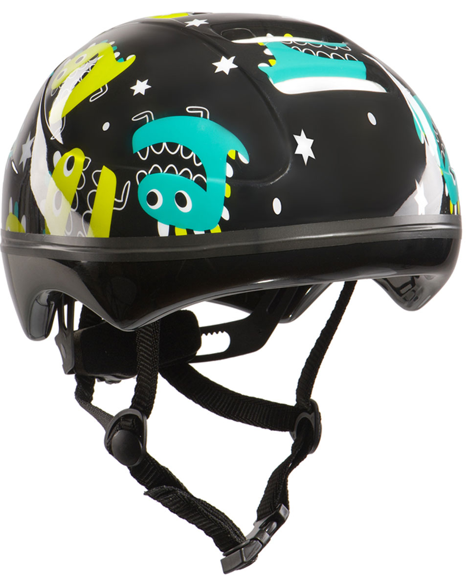 Шлем защитный Happy Baby Stonehead, цвет: черный, размер S