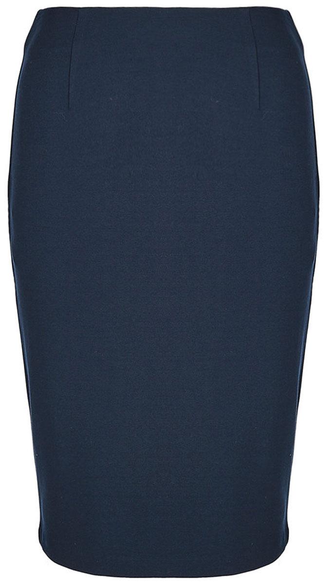 Юбка United Colors of Benetton, цвет: синий. 4DI450543_06U. Размер S (42/44) юбка united colors of benetton цвет бежевый 4aor50515 3d1 размер 38 40