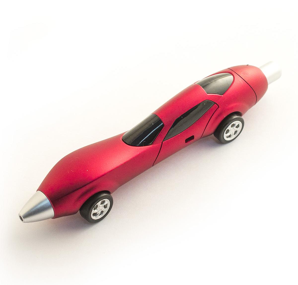 Эврика Ручка шариковая Авто №2 цвет корпуса красный98519Разноцветные миниатюрные автомобили всегда производят впечатление на представителей мужской половины человечества, а если это еще и удобная шариковая ручкаАвто №2, которую так приятно держать за обтекаемые бока, то радость длится существенно дольше. Стержень сменяемый.