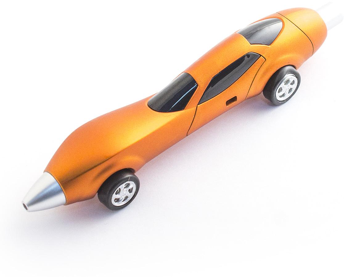 Эврика Ручка шариковая Авто №4 цвет корпуса оранжевый