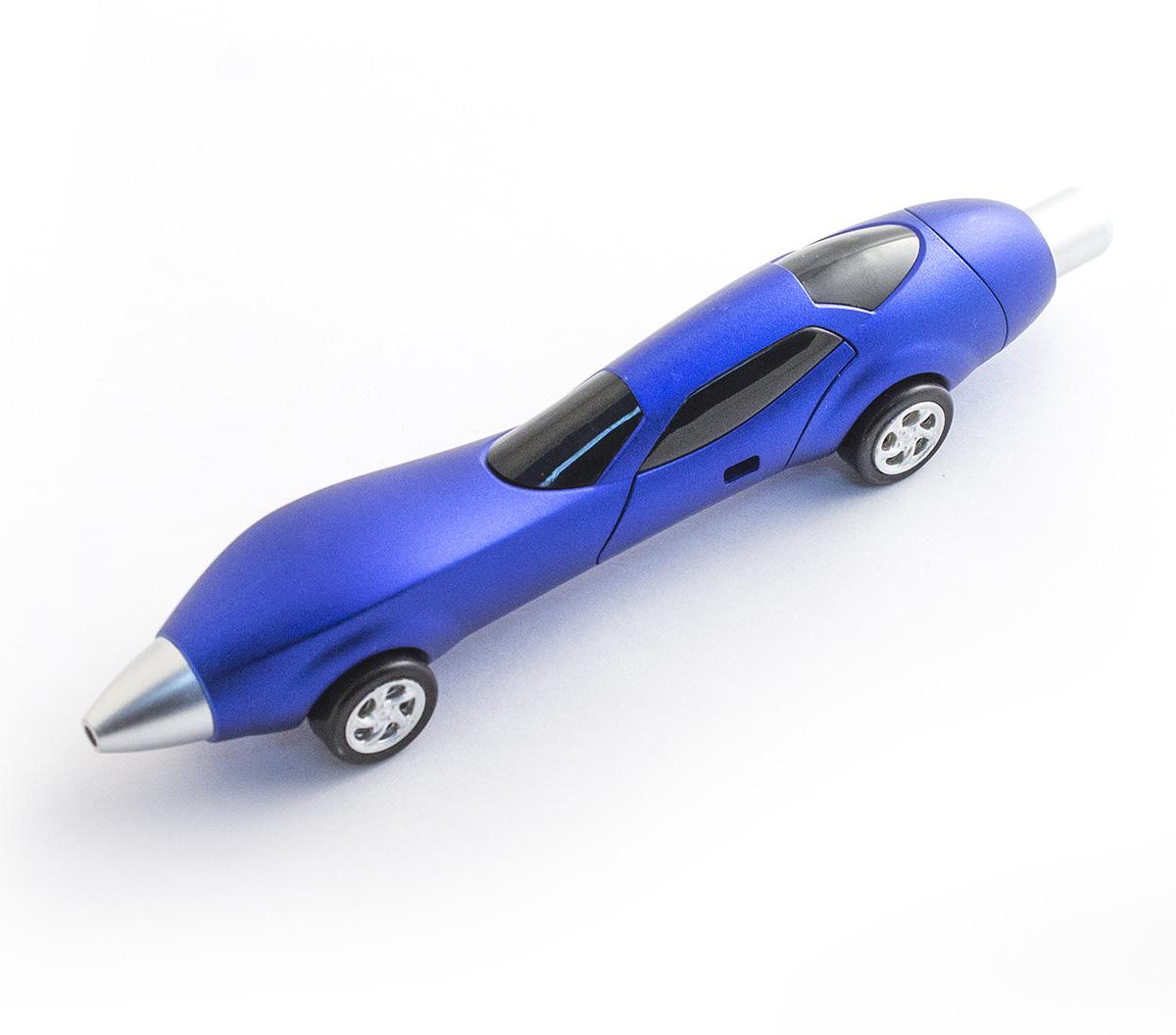 Эврика Ручка шариковая Авто №5 цвет корпуса синий