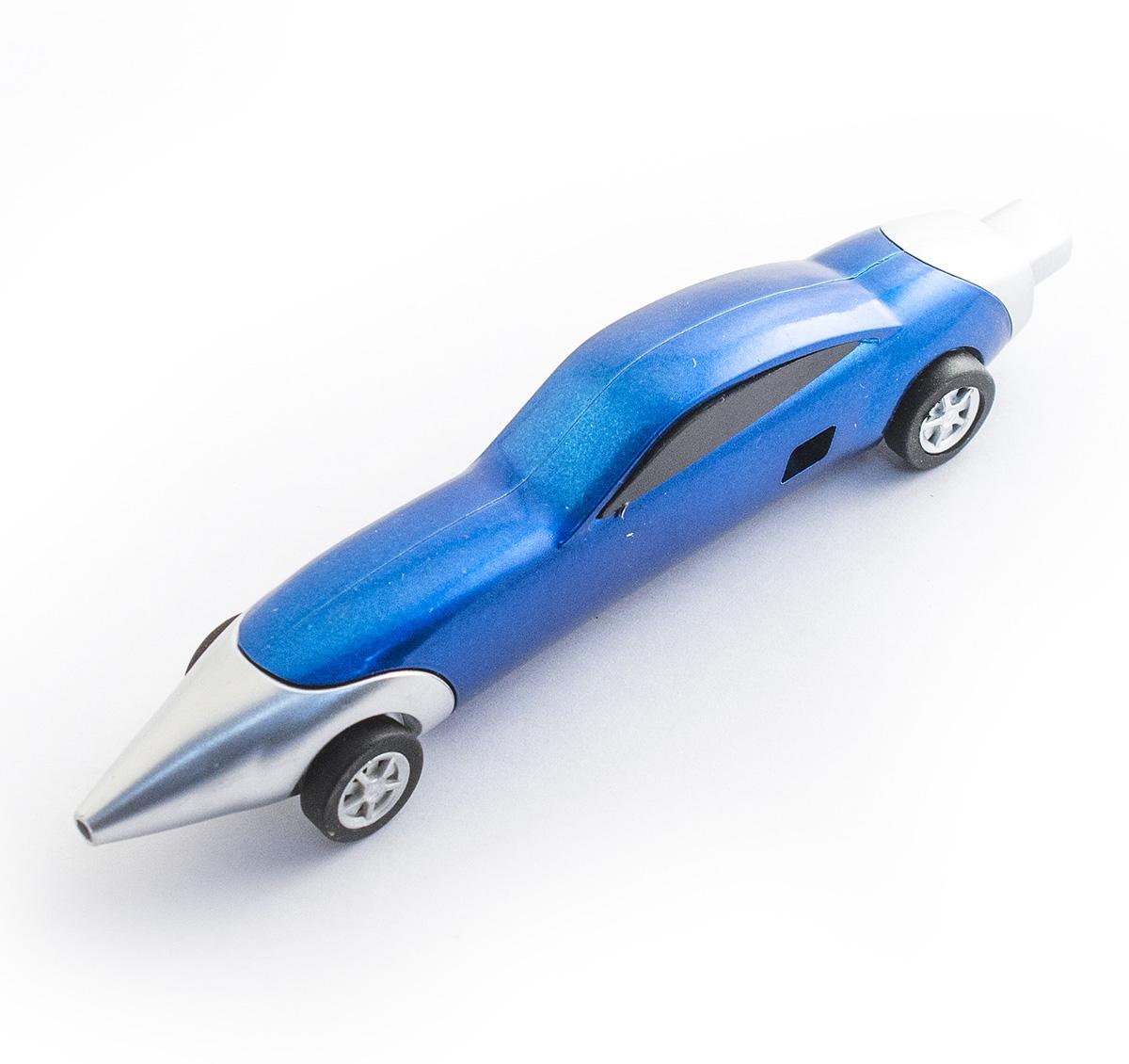 Эврика Ручка шариковая Авто №8 цвет корпуса синий98525Разноцветные миниатюрные автомобили всегда производят впечатление на представителей мужской половины человечества, а если это еще и удобная шариковая ручка, которую так приятно держать за обтекаемые бока, то радость длится существенно дольше. Стержень сменяемый, цвет чернил - синий, черный.