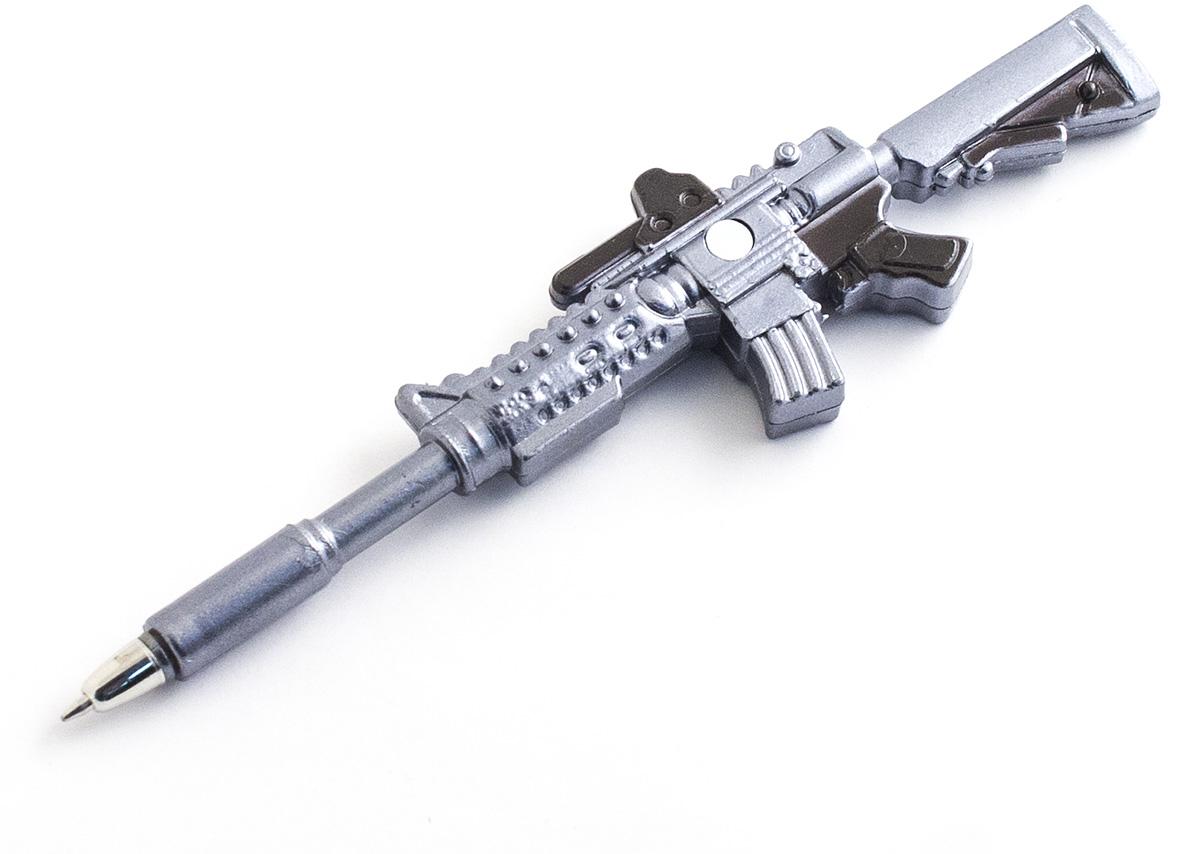 Эврика Ручка шариковая Автомат №1 с магнитом98530Оригинальная ручка военной тематики с магнитным креплением. Упаковка - индивидуальный пакет. Стержень сменный