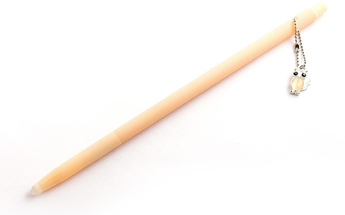 Эврика Ручка гелевая Сова №4 с подвеской цвет корпуса персиковый98559Изящная гелевая ручка Сова №4 с яркой и модной подвеской загипнотизирует любительниц гламура, покачиваясь на верхушке письменного прибора во время работы. Стержень не сменяемый.