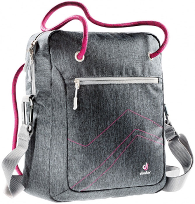 Deuter Сумка Pannier цвет серый розовый deuter giga blackberry dresscode