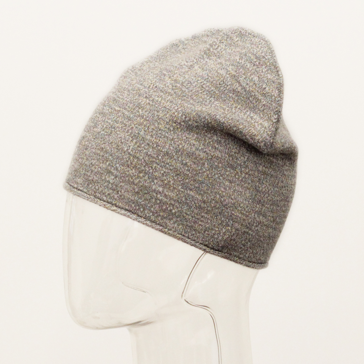 Шапка для девочки Marhatter, цвет: серый. MFH8233. Размер 55/56MFH8233Стильная подростковая шапка от Marhatter для девочки с макушкой формы лопатка выполнена плотной вязкой из качественного хлопка с добавлением метанита, который придает изделию деликатный блеск. По низу изделия рулик. Легкая модель без утепления - эффектное дополнение к одежде юной модницы.