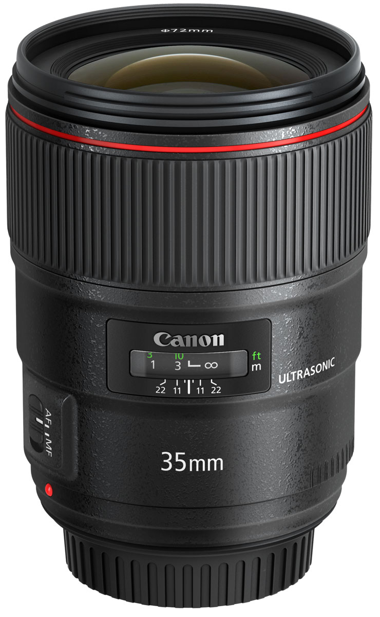 Canon EF 35 mm 1.4L II USM, Black объектив