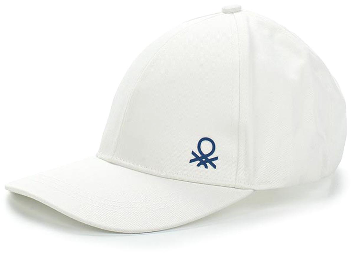 Бейсболка для мальчиков United Colors of Benetton, цвет: белый. 6G0PB4219_101. Размер 50/526G0PB4219_101