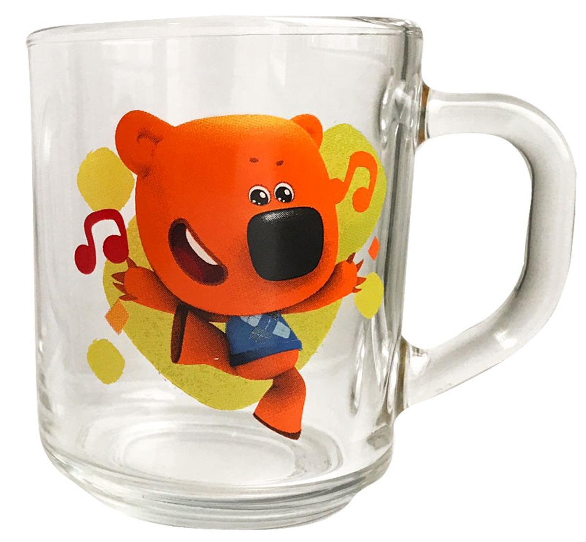 """Кружка с изображением героев из мультсериала """"""""Ми-ми-мишки"""""""" - отличный подарок для вашего ребенка!¶Подходит для холодных и горячих напитков, а так же пригодна для мытья в посудомоечной машине. Не рекомендуется подвергать изделие длительному воздействию прямых солнечных лучей."""