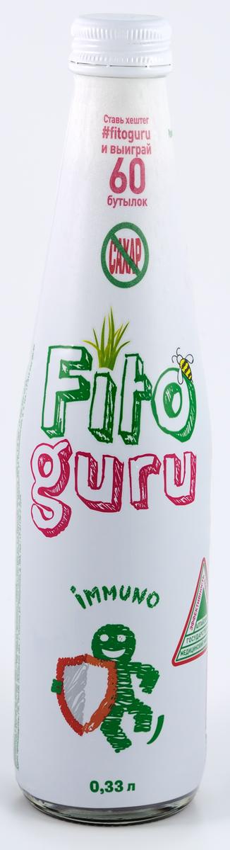 Fitoguru Immuno Напиток сокосодержащий, 0,33 л мясо