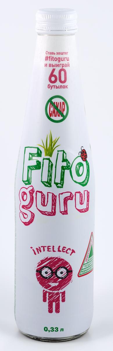 Fitoguru Intellect Напиток сокосодержащий, 0,33 л напиток сокосодержащий фитогуру гранат intellect 0 25 пэт