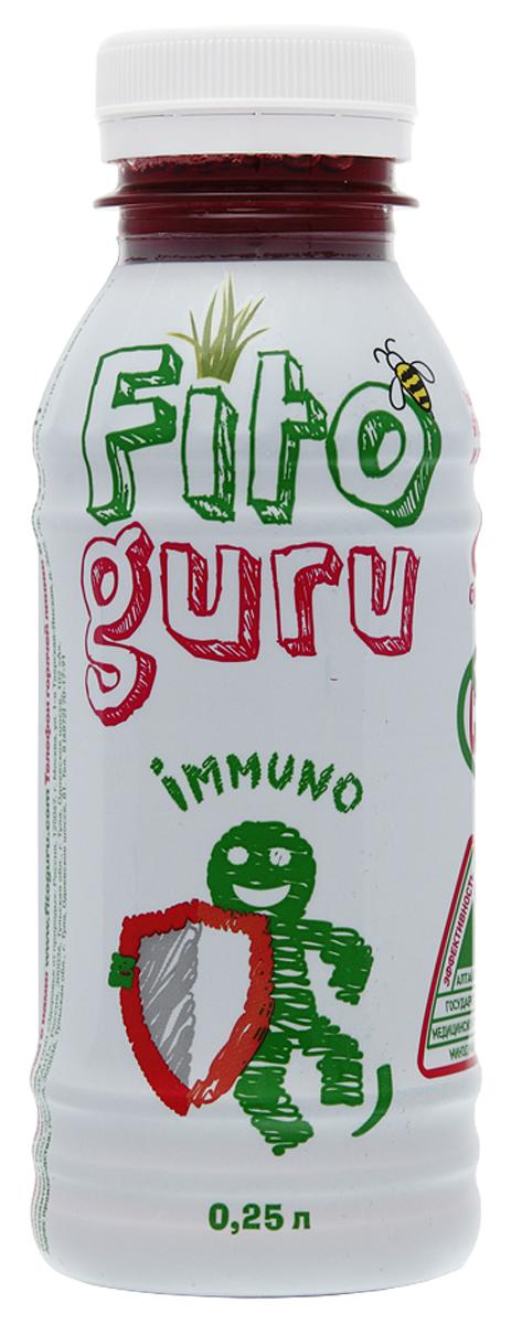 Fitoguru Immuno Напиток сокосодержащий, 0,25 л добрый pulpy апельсин напиток сокосодержащий с мякотью 0 9 л