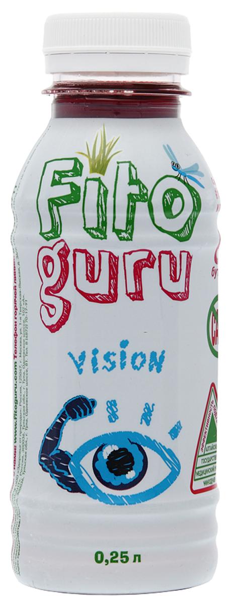 Fitoguru Vision Напиток сокосодержащий, 0,25 л fitoguru mens force напиток сокосодержащий 0 33 л