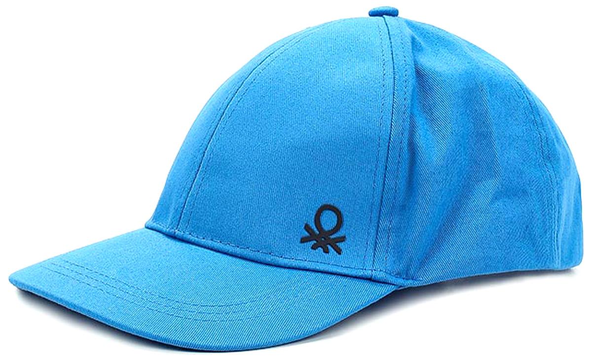 Бейсболка для мальчиков United Colors of Benetton, цвет: синий. 6G0PB4219_0M8. Размер 54/566G0PB4219_0M8Бейсболка от United Colors of Benetton выполнена из плотного хлопкового текстиля. Сзади регулируемый ремешок на пряжке, плотный козырек.