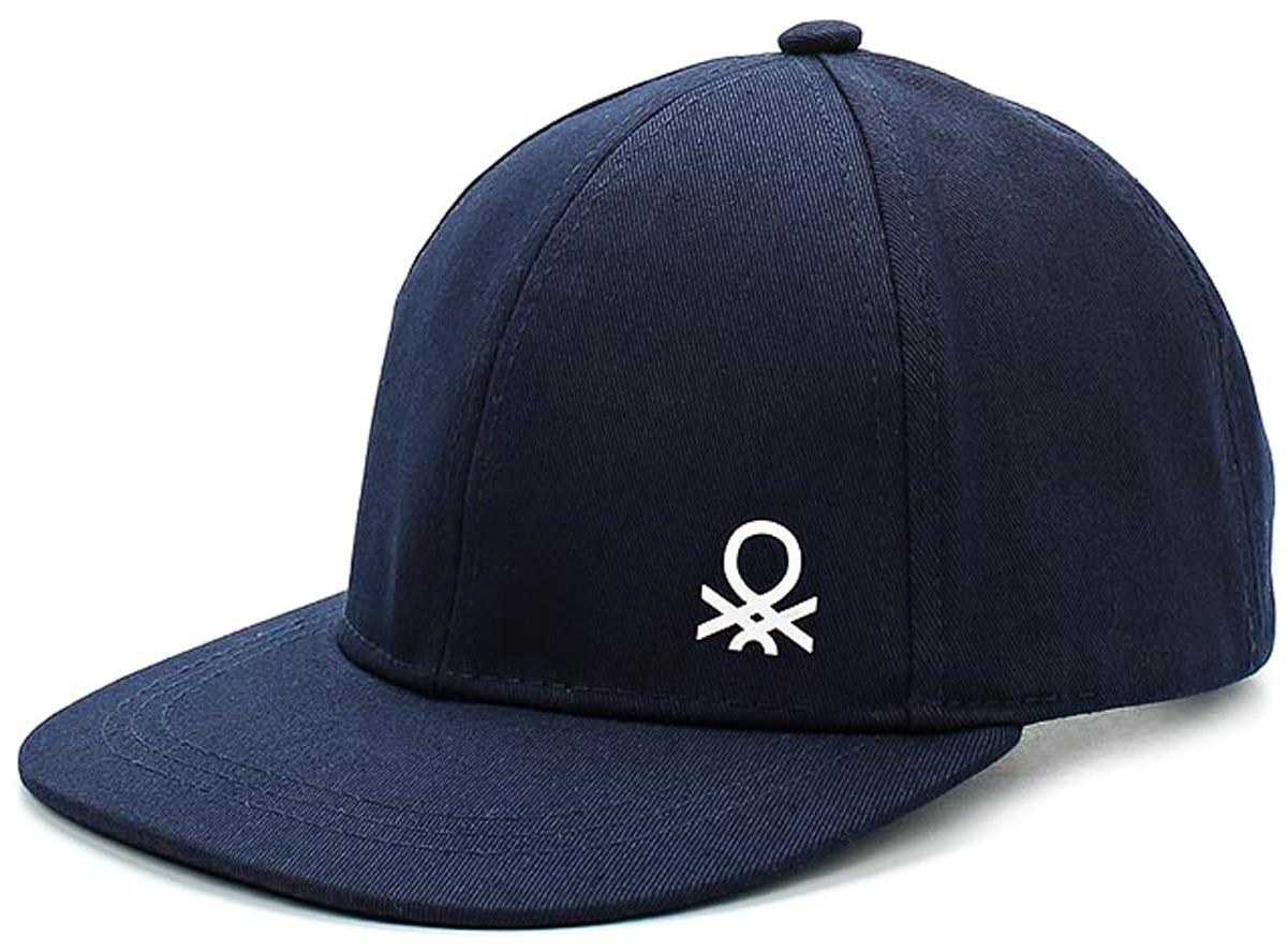 Бейсболка для мальчиков United Colors of Benetton, цвет: синий. 6G0PB4219_13C. Размер 56/586G0PB4219_13C