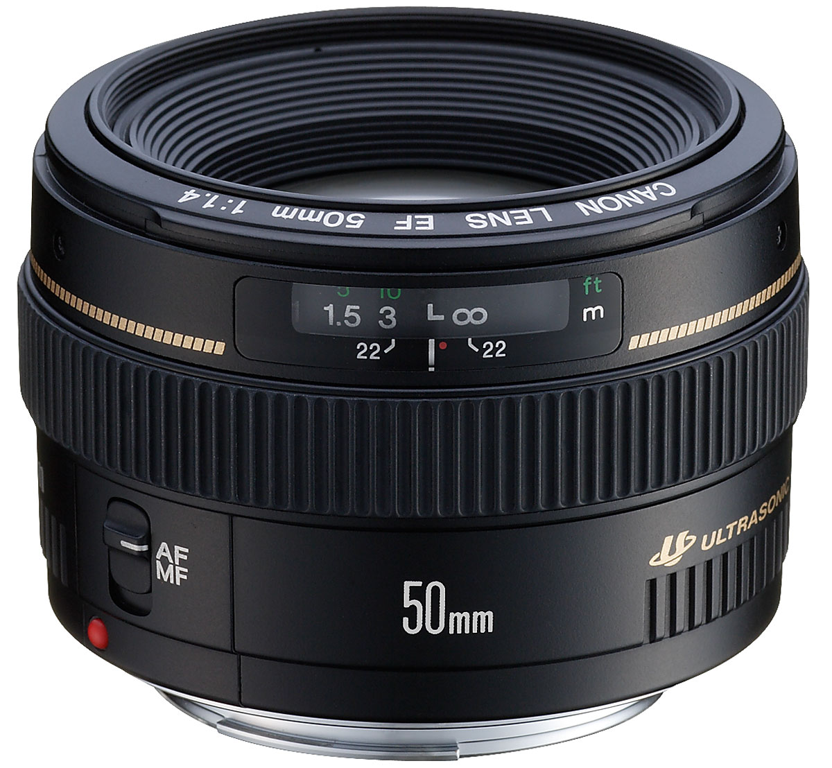 Canon EF 50 mm f/1.4 USM объектив