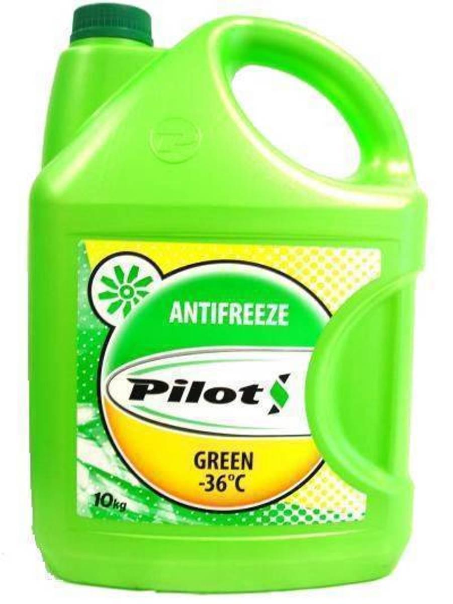 Антифриз Pilots Green Line, -40°С, цвет: зеленый, 10 кг3203Готовые к применению антифризы PILOTS GREEN LINE – 40°C, предназначены для использования в системах охлаждения двигателей внутреннего сгорания современных автомобилей отечественного и зарубежного производства.