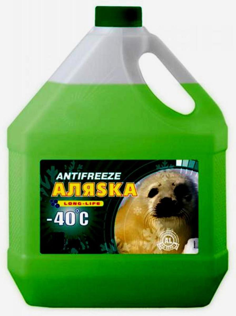 Антифриз Аляска Green, -40°С, цвет: зеленый, 10 кг5523Низкозамерзающая охлаждающая жидкость, предназначенная для использования в системах охлаждения двигателей внутреннего сгорания. Обеспечивает надежную работу системы охлаждения двигателя при температуре окружающей среды от – 40°С до + 50°С.